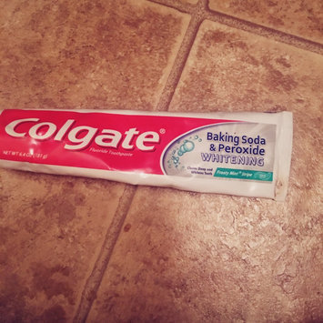 Photo of Colgate® Baking Soda & Peroxide WHITENING Toothpaste Brisk Mint uploaded by Teran F.