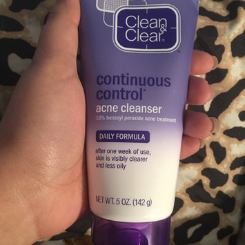 Photo of Clean & Clear® Continuous Control® Acne Cleanser uploaded by Daymarie W.