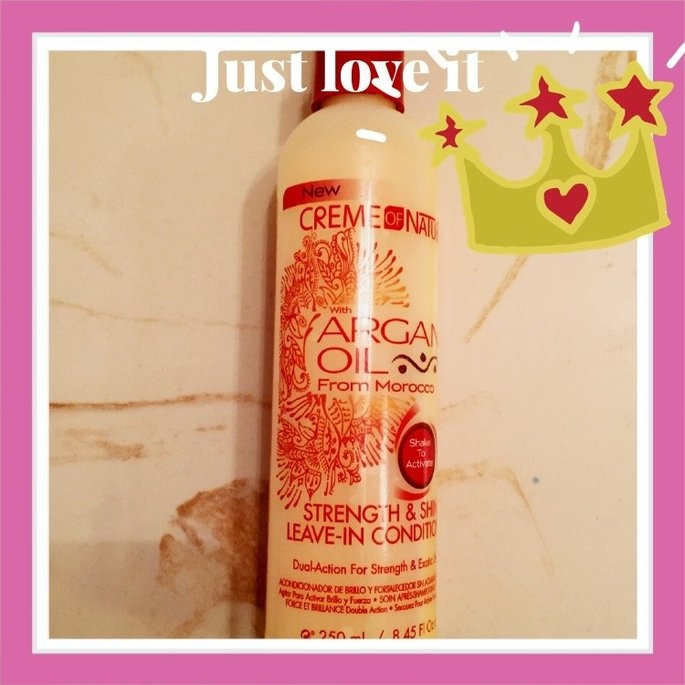 Creme Of Nature Strength & Shine Leave-in Conditioner uploaded by Vero L.