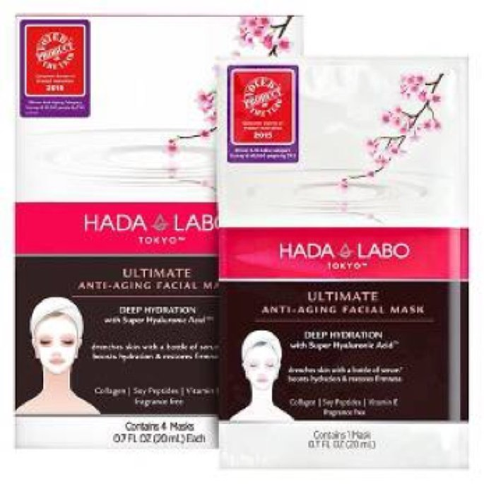 Hada Labo Tokyo™                           Ultimate Anti-Aging Facial Mask uploaded by Jaime  B.