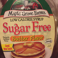 Maple Grove Farms® Low Calorie Sugar Free Butter Flavor Syrup 24 fl. oz. Bottle uploaded by Keeley P.