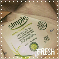Simple® Micellar Makeup Remover Wipes uploaded by Megan P.