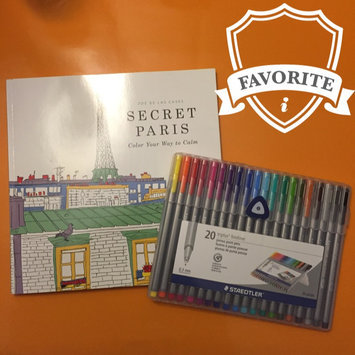 Photo of Staedtler Triplus Fineliner Pens, Assorted, Set of 20 uploaded by Susan Y.