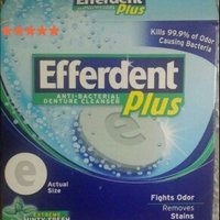 Efferdent Plus Anti-Bacterial Denture Cleanser Tablets Extreme Minty Fresh uploaded by Isabel J.