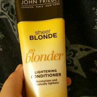 John Frieda® Sheer Blonde Go Blonder Lightening Conditioner 8.3 fl. oz. Tube uploaded by Brandi P.