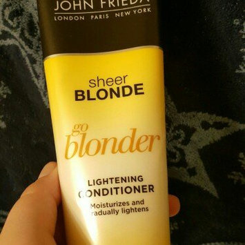 Photo of John Frieda® Sheer Blonde Go Blonder Lightening Conditioner 8.3 fl. oz. Tube uploaded by Brandi P.