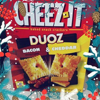 Cheez-It Duoz® Bacon & Cheddar Baked Snack Crackers 12.4 oz. Box uploaded by Amber R.