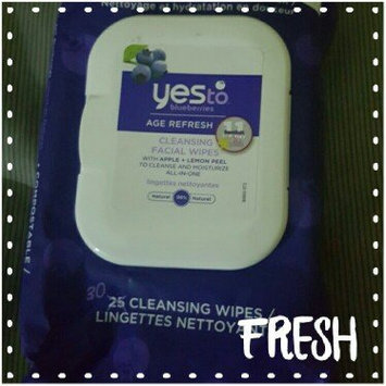 Photo of Yes To Blueberries Cleansing Facial Wipes uploaded by Ashley C.