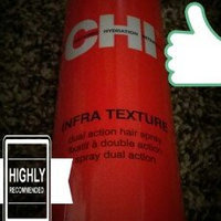 Chi Cationic Hydration Interlink Chi Infra Texture Dual Action Hair Spray 10 oz. uploaded by Sari S.