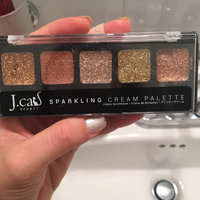 J.Cat Beauty Sparkling Cream Eye Shadow Palette uploaded by Jessica M.