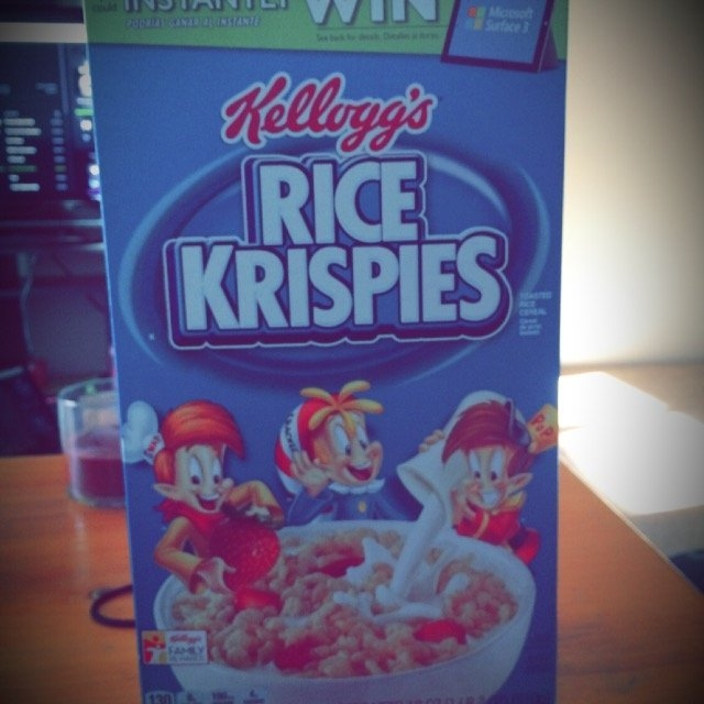 Kellogg's Rice Krispies Cereal uploaded by Haley F.