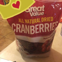 Great Value All Natural Dried Cranberries, 24 oz uploaded by Teresita M.