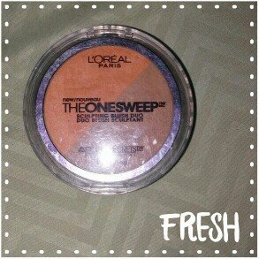 L'Oréal The One Sweep Sculpting Blush uploaded by Hellen Michael G.
