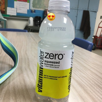 Photo of vitaminwater Zero Squeezed Lemonade uploaded by Shae A.