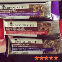 BROOKSIDE Dark Chocolate Cherry with Pomegranate Flavor Fruit & Nut Bar uploaded by Ali P.