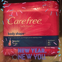 Carefree Body Shape Pantiliners, Scented, 54 ea uploaded by Jessica G.