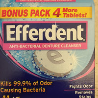 Efferdent Anti-Bacterial Denture Cleanser Tablets uploaded by Cinnamon C.