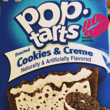 Photo of Kellogg's Pop-Tarts Frosted Cookies & Cream Toaster Pastries uploaded by Kilee S.