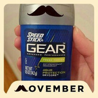 Speed Stick GEAR Antiperspirant/Deodorant uploaded by Stacey C.