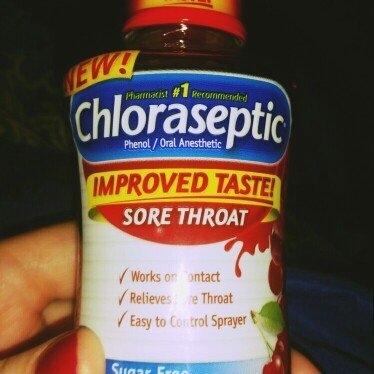 Chloraseptic Sore Throat Spray uploaded by Amanda B.