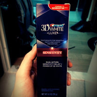 Crest 3D White Luxe Sensitivity Whitening Toothpaste, Pampering Mint, 4.1 oz uploaded by Alex S.