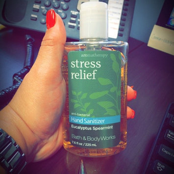 Photo of Bath & Body Works PocketBac Stress Relief Eucalyptus Spearmint Anti-Bacterial Hand Gel uploaded by Belinda M.