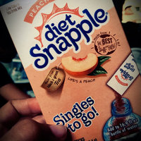 Snapple Diet Singles to go! Peach Tea uploaded by Kaydee C.