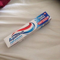 Aquafresh Triple Protection Extra Fresh +Whitening Fluoride Toothpaste Fresh Mint uploaded by Gemma L.