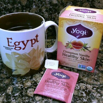 Photo of Yogi Tea Cinnamon Vanilla Healthy Skin uploaded by Christina F.