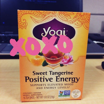 Photo of Yogi Tea Sweet Tangerine Positive Energy uploaded by Taylor T.