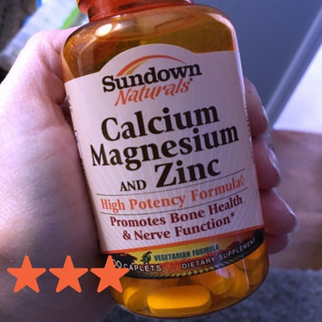 Photo of Sundown Naturals Calcium uploaded by Christina R.