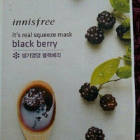 Innisfree It's Real Squeeze Mask - Black Berry 10pcs uploaded by Angèle L.