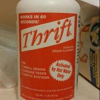 Thrift T-100 Alkaline Based 1-Pound Granular Drain Cleaner uploaded by Katie J.