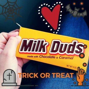 Photo of Hershey's Milk Duds Candy With Chocolate And Caramel uploaded by Briana M.