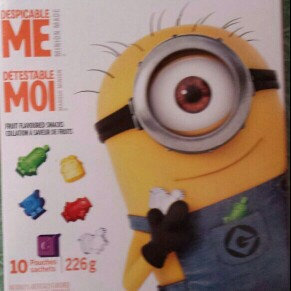 Photo of Betty Crocker Despicable Me Fruit Flavored Snacks - 10 CT uploaded by Terri D.