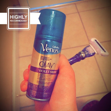 Photo of Gillette Venus Ultramoisture Violet Swirl Shave Gel with Olay uploaded by Allison R.