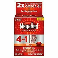 Schiff® MegaRed® Advanced 4 in 1 Omega-3s Fish Oil + High Absorption Krill Oil Extra Strength 500mg Softgels uploaded by Elyse D.
