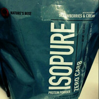 tures Best Nature's Best IsoPure Zero Carb - Strawberries & Cream uploaded by Veronica P.