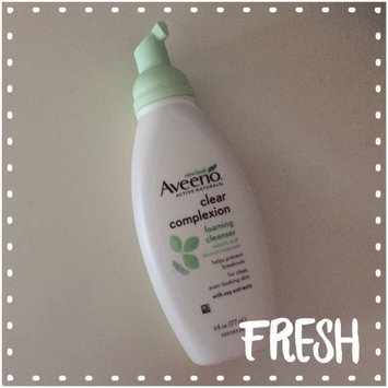 Photo of Aveeno Clear Complexion Foaming Cleanser uploaded by Briana H.