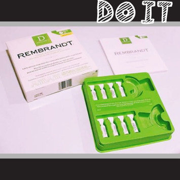 Photo of Rembrandt® Deeply White® 2 Hour Whitening Kit uploaded by Michelle L.