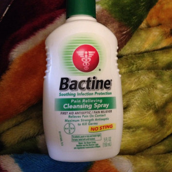 Bactine Pain Relieving Cleansing Spray uploaded by Judith R.