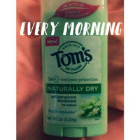 Tom's OF MAINE Natural Beauty Bar Deodorant uploaded by Keely M.