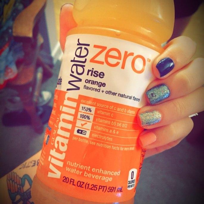 vitaminwater Zero Rise Orange uploaded by Felecia F.
