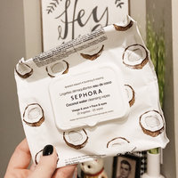 SEPHORA COLLECTION Cleansing & Exfoliating Wipes - Coconut Water uploaded by Shannon B.
