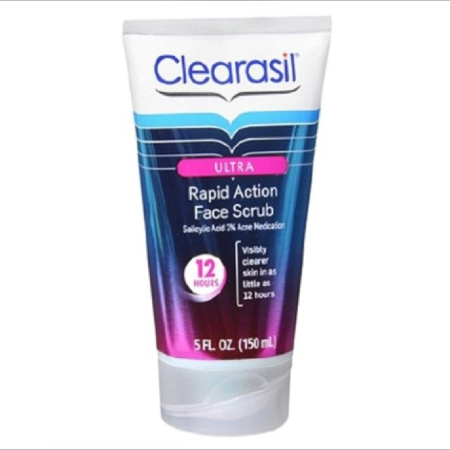 Clearasil Ultra Rapid Action Face Scrub uploaded by Marisa G.