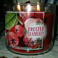 Bath & Body Works Frosted Cranberry 3 Wick Scented Candle uploaded by Joan G.
