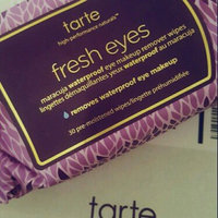 tarte Fresh Eyes Maracuja Waterproof Eye Makeup Remover Wipes uploaded by Ashlin E.