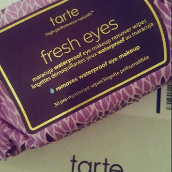 Photo of tarte Fresh Eyes Maracuja Waterproof Eye Makeup Remover Wipes uploaded by Ashlin E.