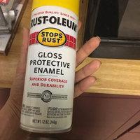 Rust-Oleum 12-oz Sunburst Yellow Gloss Spray Paint 7747830 uploaded by Leleinia L.