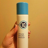 it's a 10 miracle volumizing blowdry spray uploaded by Amber F.